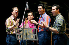 Jersey Boys at the Fisher Theatre