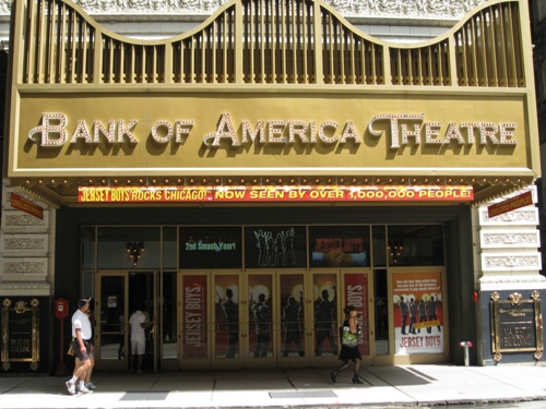 Jersey Boys at Bank of America Theatre in Chicago, IL
