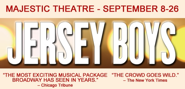 Jersey Boys is Coming to Majestic Theatre San Antonio
