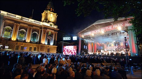 BBC Proms in the Park on 11 September