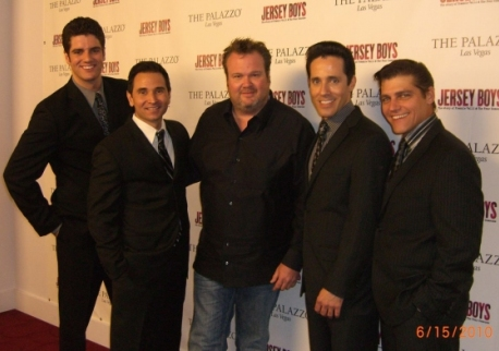 Peter Saide, Travis Cloer, Eric Stonestreet, Jeff Leibow, Deven May