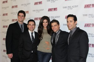 Hope Dworaczyk, 2010 Playboy Playmate of the Year, Attended Jersey Boys at the Palazzo
