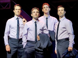 Matt Bogart, Jarrod Spector, Ryan Jesse and Dominic Nolfi