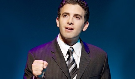Jarrod Spector in Jersey Boys Broadway