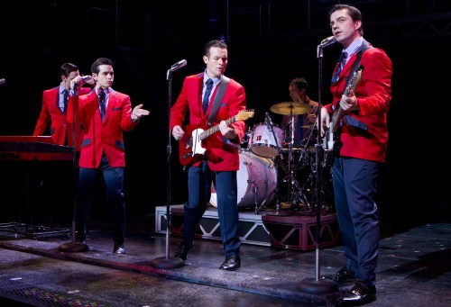 Jersey Boys Cast Starring at PPAC