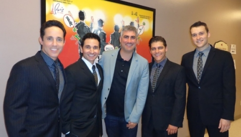 Taylor Hicks Visited Jersey Boys Las Vegas