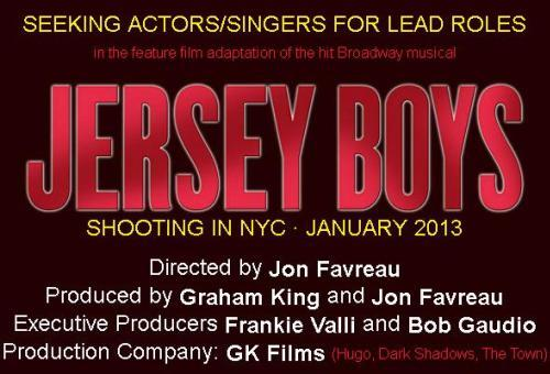 Jersey Boys Movie Cast Notice