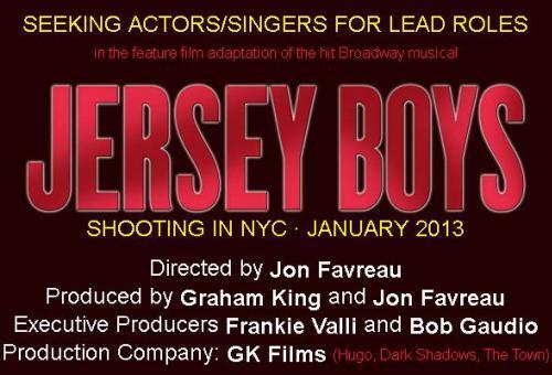 Jersey Boys Movie Cast Notice