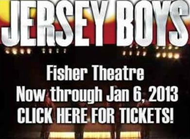Jersey Boys Fisher Theatre Tickets