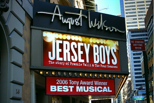 Jersey Boys August Wilson Theatre