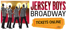 Jersey Boys Broadway Tickets - Cheap Jersey Boys Tickets